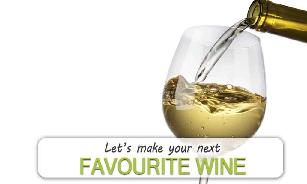 Let's make your next Favourite Wine