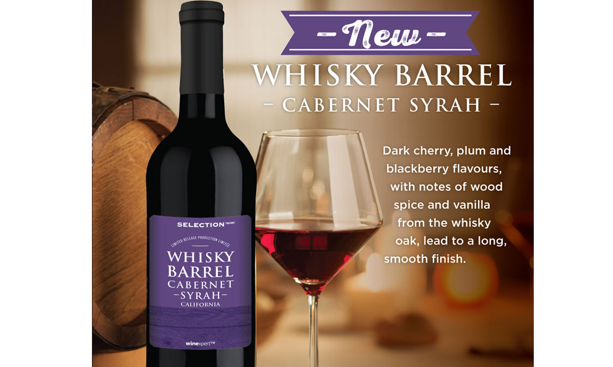 Selection Limited Edition Whisky Barrel