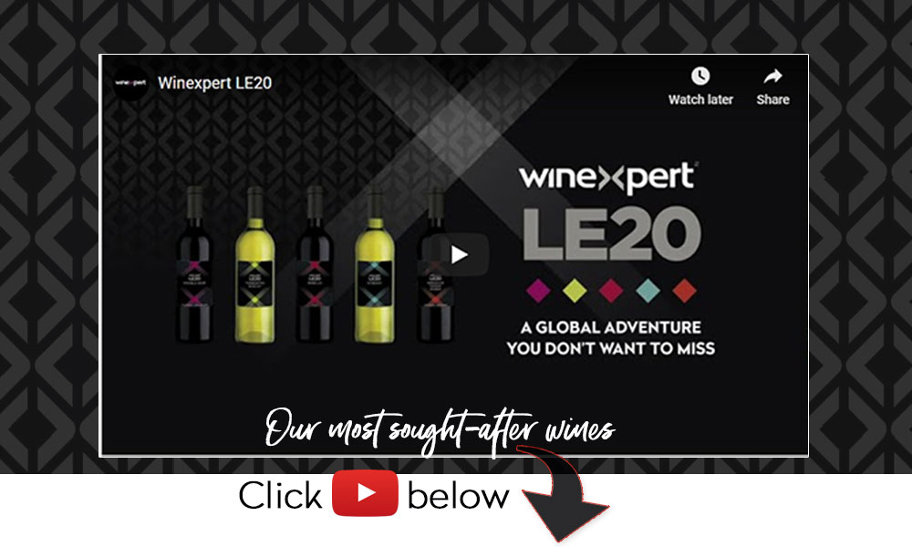 LE20 our most sought after wines