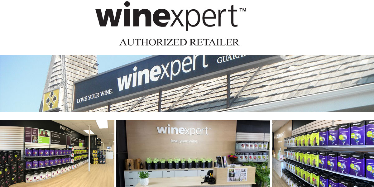 Winexpert Cornwall is a Winexpert Authorized Retailer