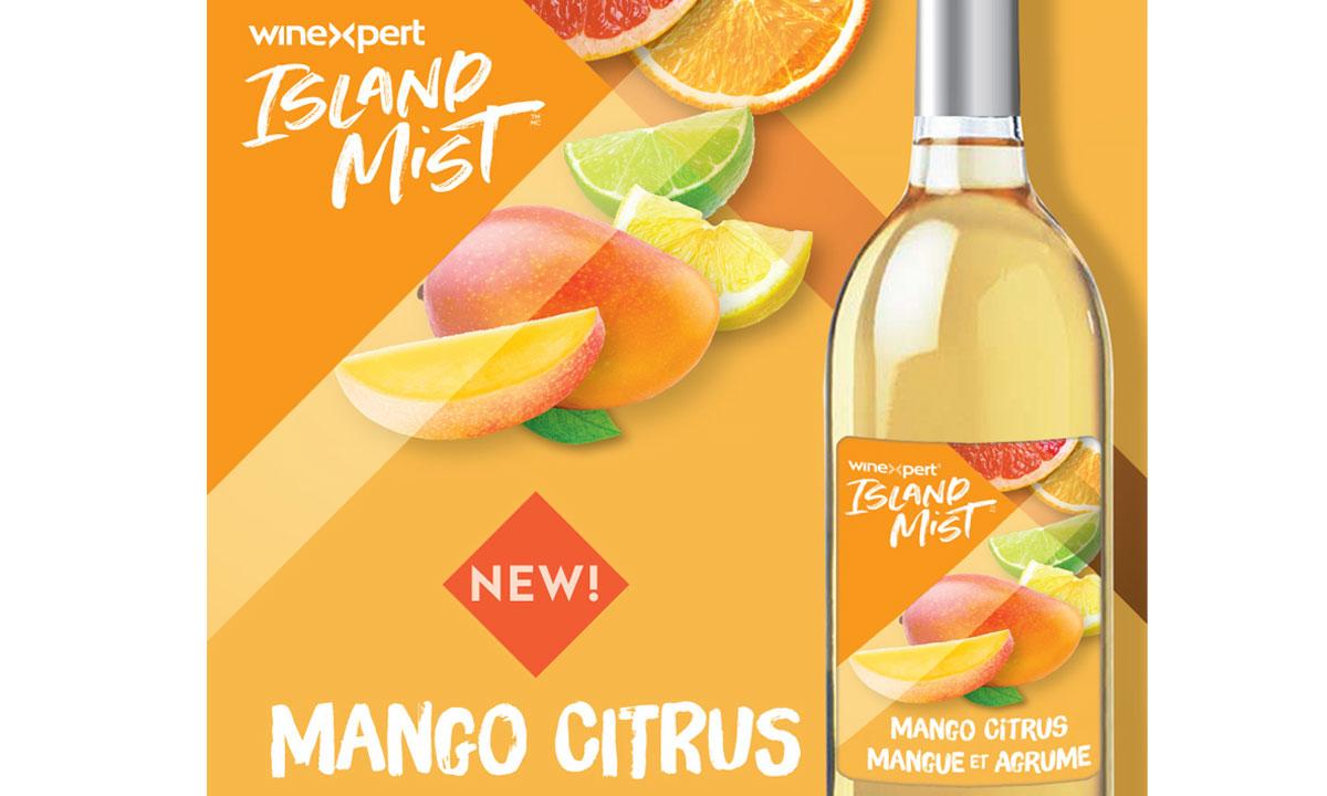 Winexpert Cornwall Island Mist Mango Citrus