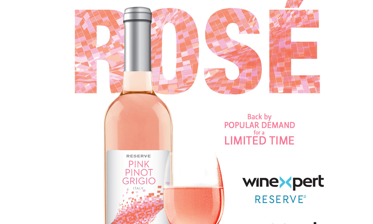 Winexpert Reserve Pink Pinot Grigio Limited Release